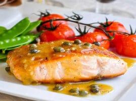 Como preparar salmon frito en mantequilla