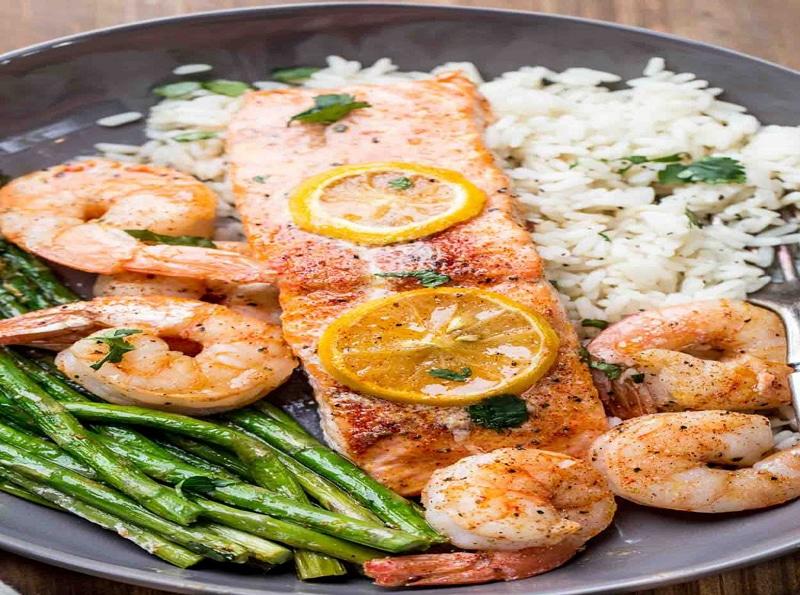 recetas de pescado con camarones