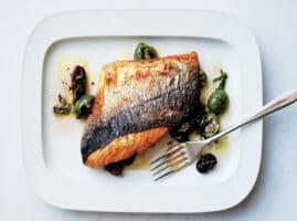 como hacer pescado asado en sartén fácil