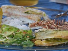 pescado a la plancha con mantequilla