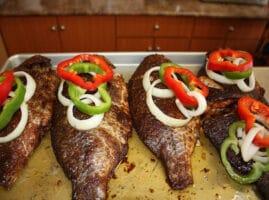 receta de pescado tilapia a la plancha
