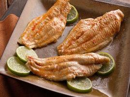 filete de pescado al horno