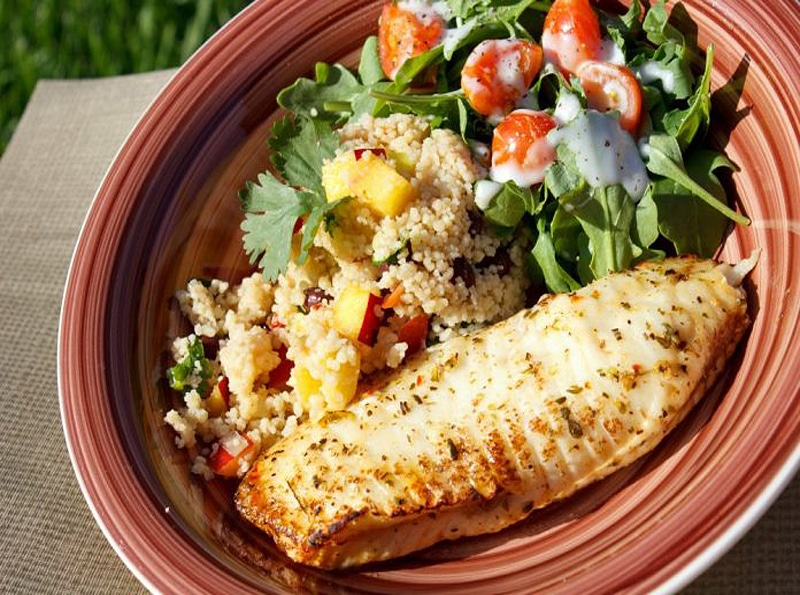 recetas para preparar filete de pescado tilapia al horno