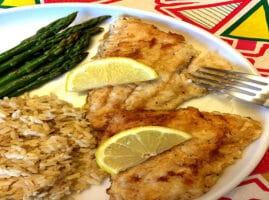 Receta como hacer filete de pescado frito con harina