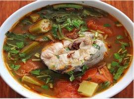 caldo de pescado bagre