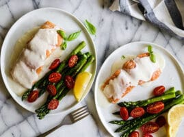 como hacer salsa para pescado al horno