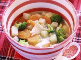receta de caldo de pescado tilapia