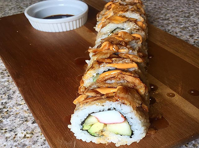 Rollo-de-sushi-California-Crunch