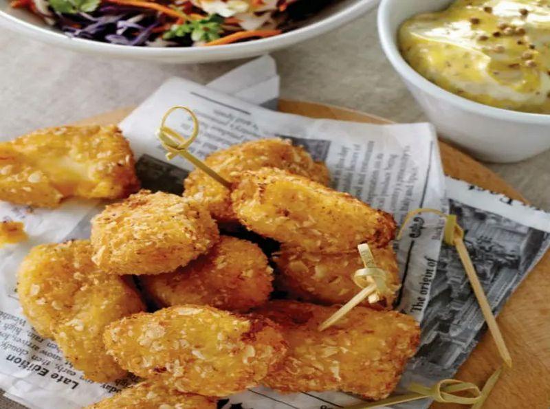 Croquetas-de-patata-con-queso-fundido