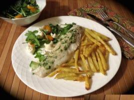 Pescado-blanco-con-mantequilla-de-cilantro