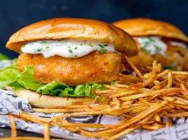 hamburguesas con pescado