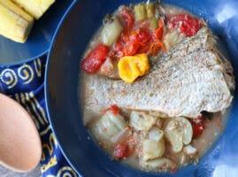 caldo de pescado receta
