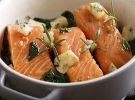 como cocinar salmón