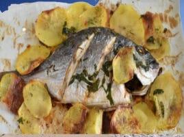 como sazonar el pescado para freír
